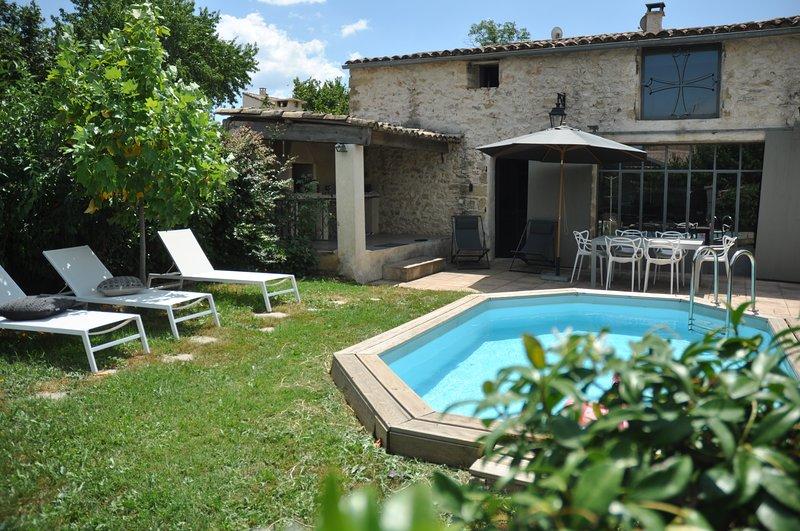 Maison du Puisneuf, vacation rental in Collias