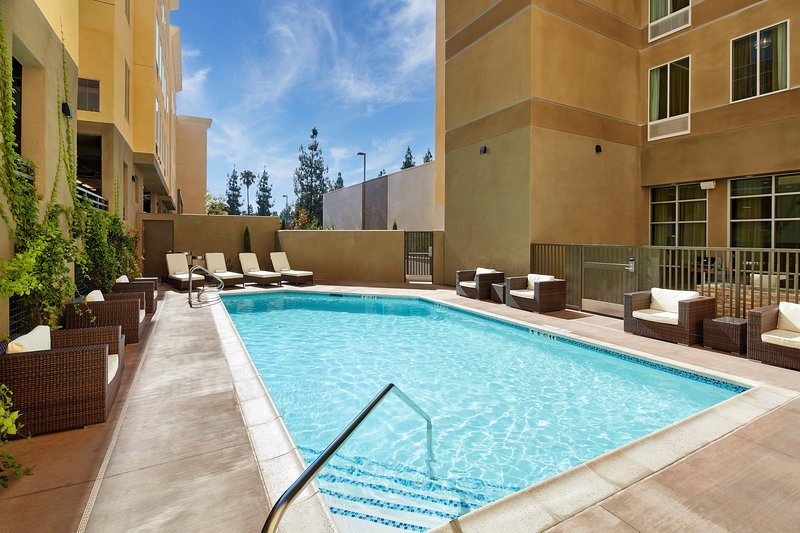 Enjoy the excellent on-site amenities including the outdoor pool!