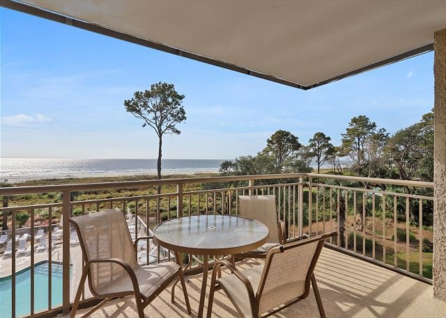 Ocean One 415 - Oceanfront 4th Floor Condo, vacation rental in Hilton Head