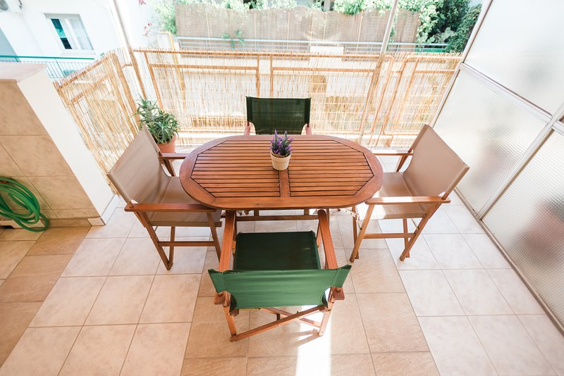 Fotini's Penthouse Petralona | Terrace & metro 2', holiday rental in Tavros