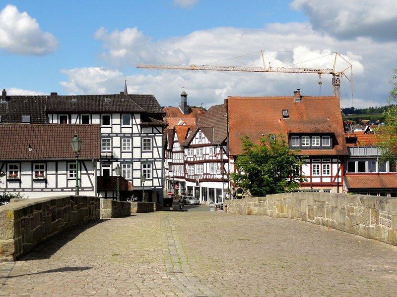 Haus an der Bartenwetzer Brücke, holiday rental in Alheim