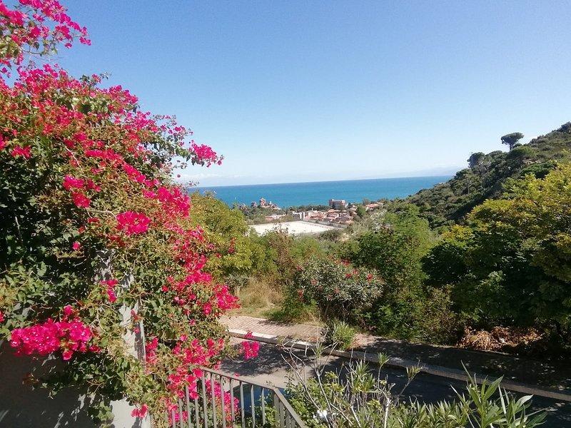 Panorama sul mare,visto dalla terrazza