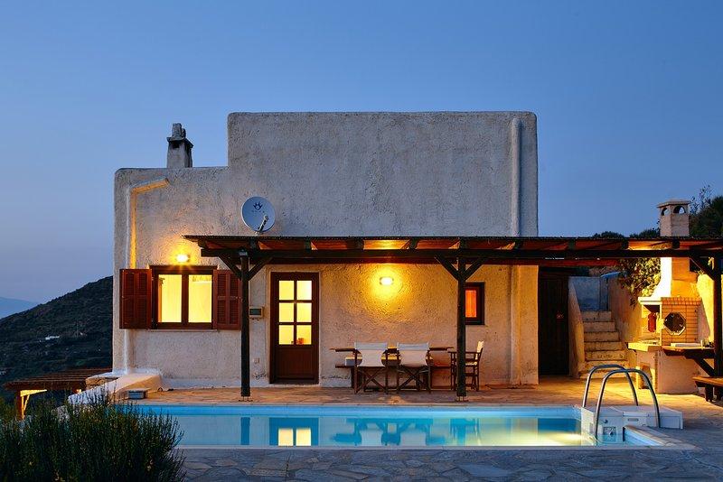 The Pool Garden House, alquiler vacacional en Melissaki