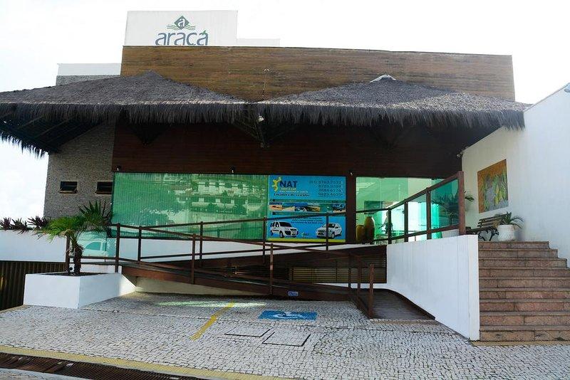 Araça Flat -Beira Mar -Ponta Negra, vacation rental in Natal