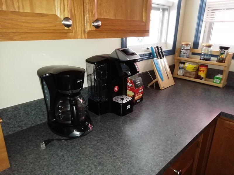 Keurig und Filterkaffeemaschinen