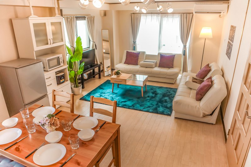 【Tennoji Room E01】2 bed rooms★Osaka Big room★Max12ppl, location de vacances à Sakai