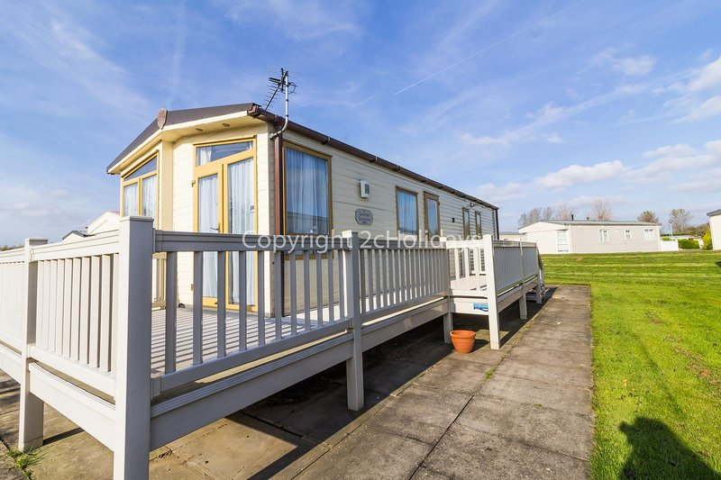 Great caravan with decking Southview Holiday Park in Skegness ref 33183V, location de vacances à Wainfleet All Saints
