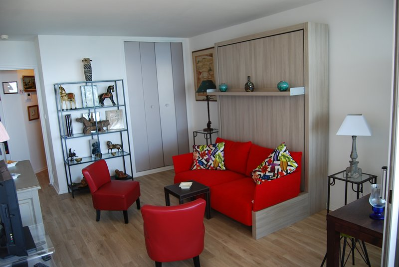 Amazing studio with sea view & Wifi, holiday rental in Biarritz