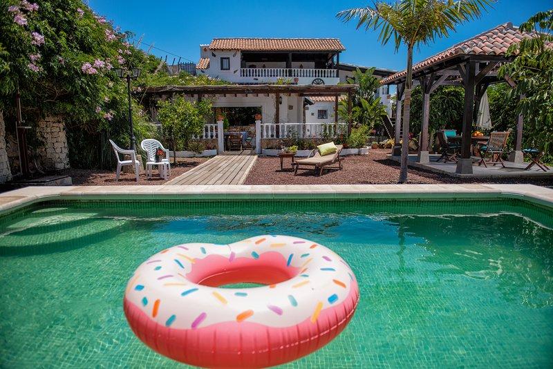 CASA EL LEBRILLO - Finca San Agustin, vacation rental in San Miguel de Tajao