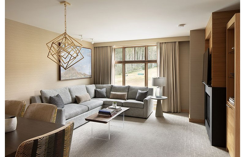 Expansive Living/Dining Space