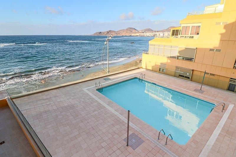 Genial apartamento con vistas a la playa de Las Canteras, location de vacances à Las Palmas