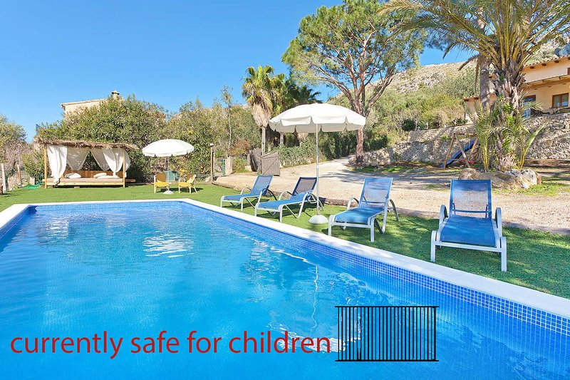 Casa unifamiliar a 7 minutos playa.ETV4271 Roca Son Simo, holiday rental in Alcudia
