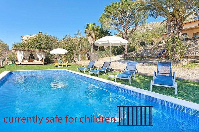 Casa unifamiliar a 7 minutos playa.ETV4271 Roca Son Simo, Ferienwohnung in Port d'Alcúdia