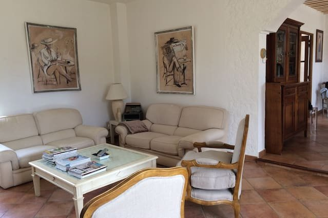 Amazing house with garden & terrace, holiday rental in Cabrieres-d'Avignon
