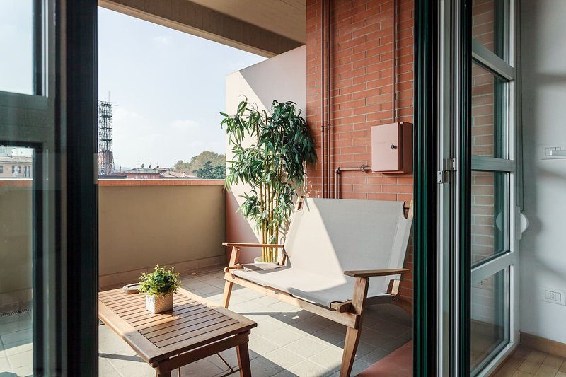 Amazing apt in Bologna, holiday rental in Monte San Pietro