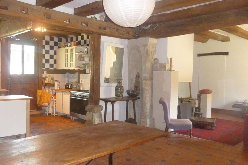 Big house with garden & terrace, holiday rental in Villemeux-sur-Eure