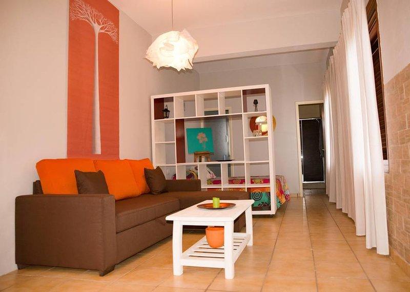 Beautiful studio with garden & Wifi, holiday rental in Tejina