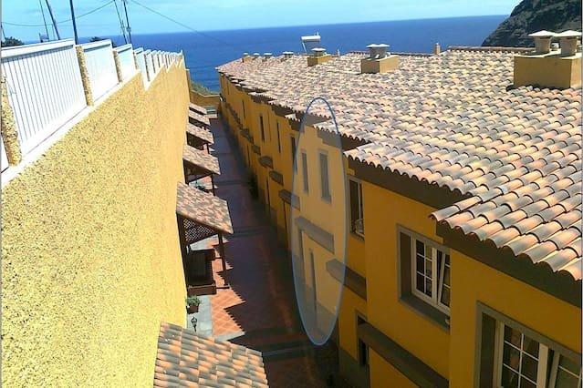 Nice house with sea view & terrace, alquiler vacacional en Punta del Hidalgo