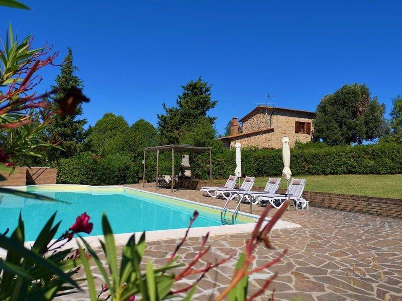 Villa San Martino, alquiler vacacional en Monterotondo Marittimo