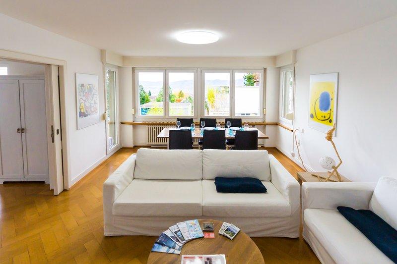 Sunny & quiet apartment in Zurich, 3br, 100m2, holiday rental in Winterthur