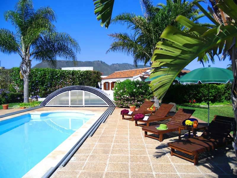 Beautiful house with shared pool, alquiler vacacional en Tejina