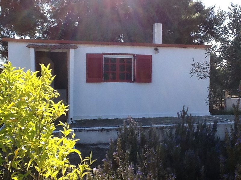 Beautiful house near the beach, location de vacances à Amarynthos