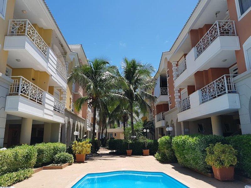 Férias Jurerê-apto 2 suítes para 6 pessoas VDI208, location de vacances à Jurere