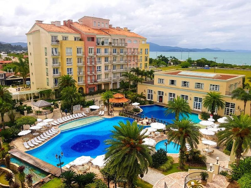 Conforto em resort Jurerê Internacional ILC2412, location de vacances à Jurere