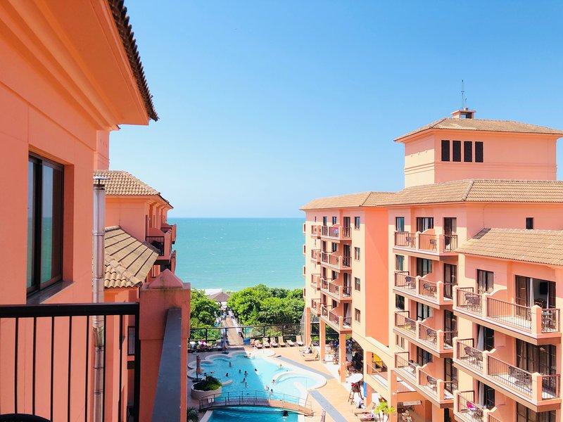 Vista Mar Resort Pé na Areia - JBV464, location de vacances à Jurere