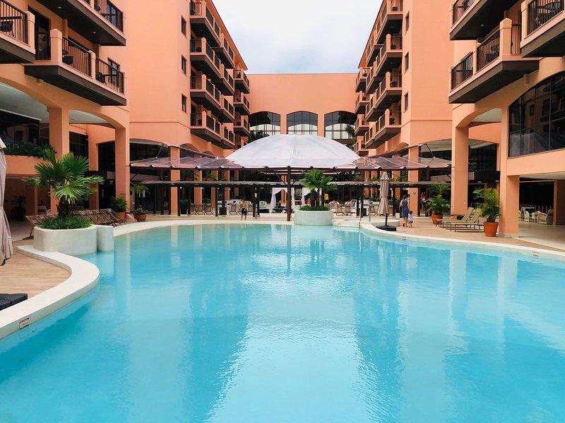 Estudio Vista Mar em Resort Pé Na Areia JBV455, location de vacances à Jurere