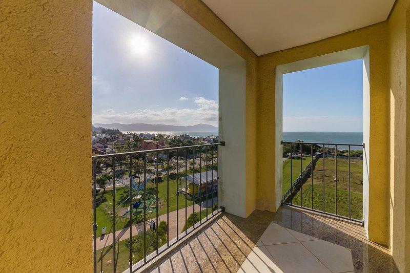 Suite Top 60m2 Bela vista mar em resort ILC3415, casa vacanza a Governador Celso Ramos