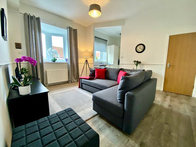 Central Apartment Linlithgow, holiday rental in Newton