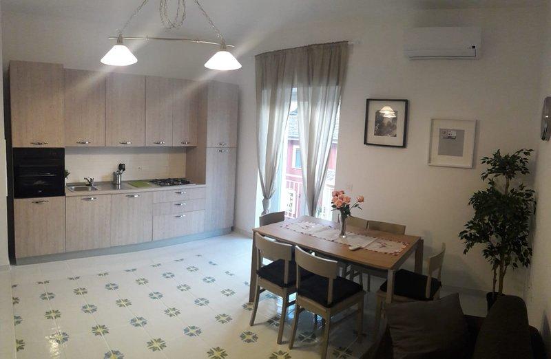 Nice apartment with sea view, casa vacanza a Agropoli