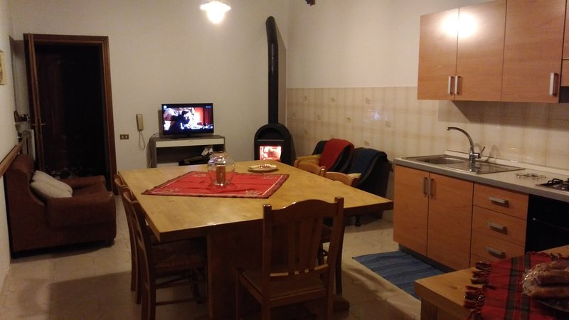 Nice apartment with garden & Wifi, holiday rental in Passopisciaro