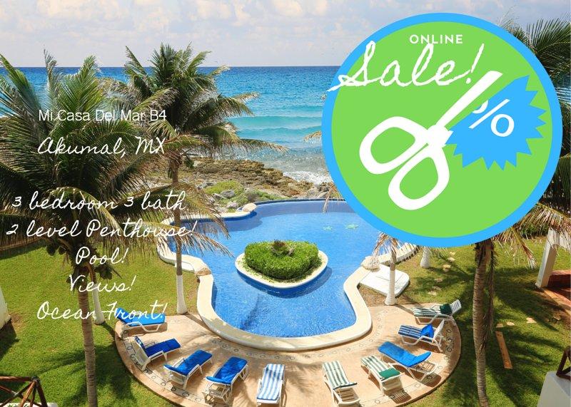 NUOVE TARIFFE SCONTATE! Questa è la tua fetta di paradiso per le vacanze!
