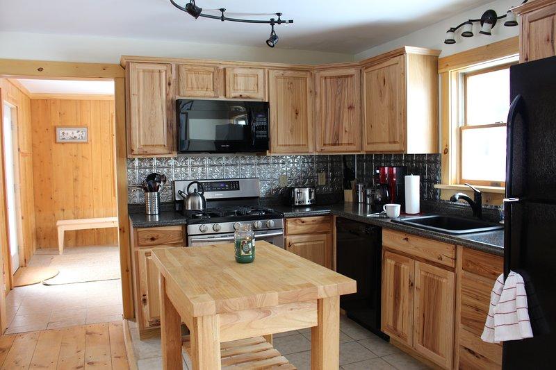 Main Floor - fully applianced kitchen