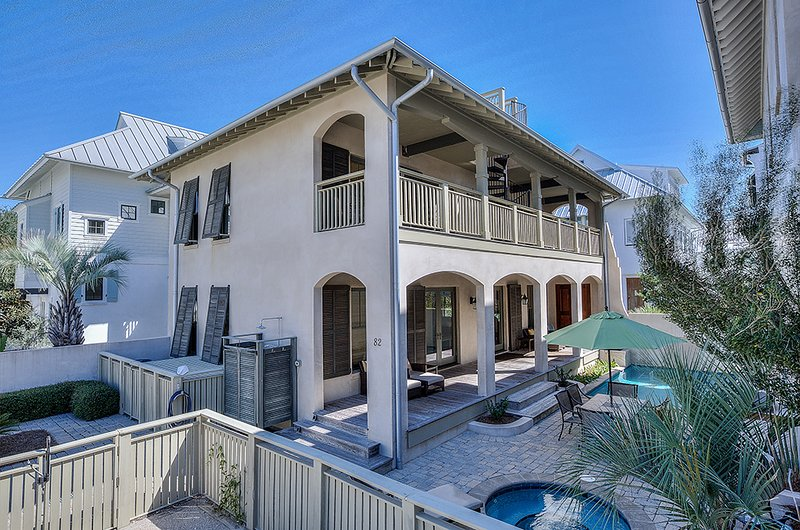 Rear Picture of our 30A Cottage Rental.