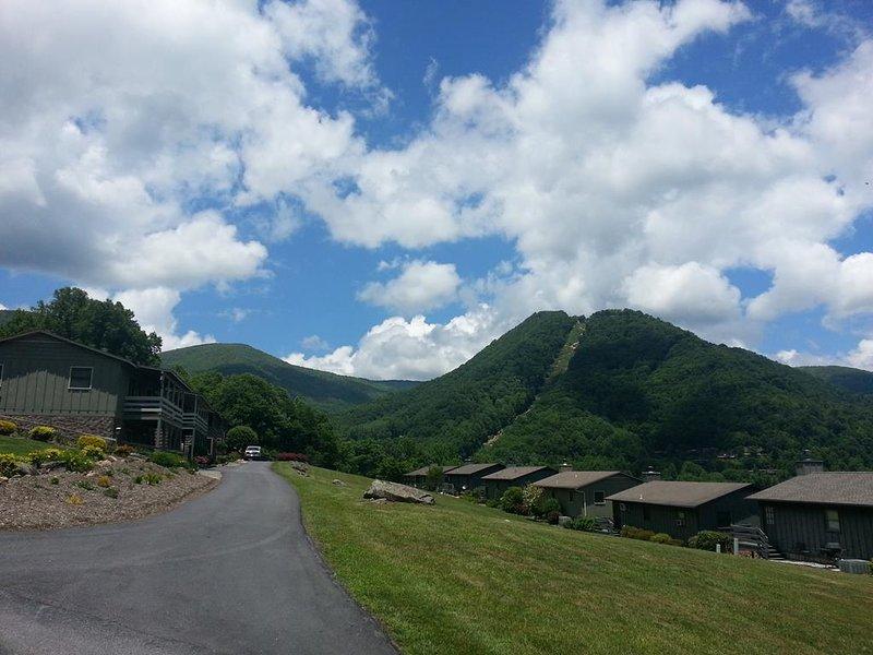 Vista a la montaña, aproximación