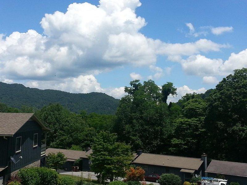 Vista a la montaña, Montañas Humeantes (7)