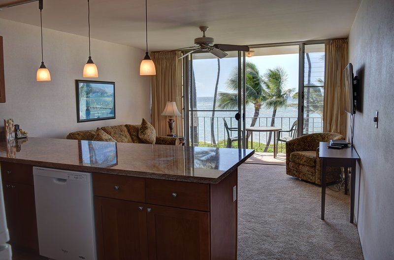 Ocean view from your luxury condo