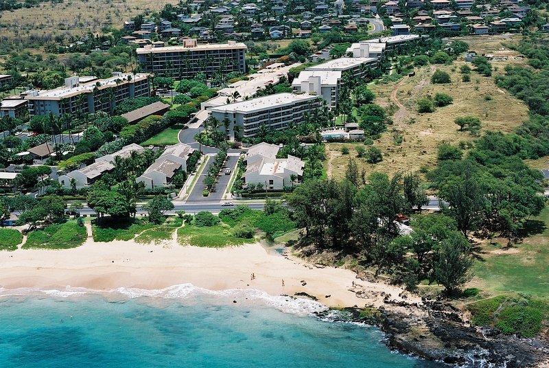 Maui Banyan property with beach across the street