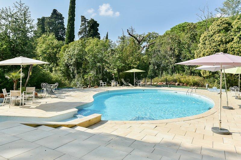 Big apt with swimming-pool & Wifi, location de vacances à Le Pradet