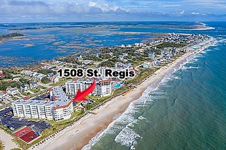 1508 St Regis Resort - 3BR Oceanfront Condo in North Topsail Beach with Tennis C, vacation rental in North Topsail Beach