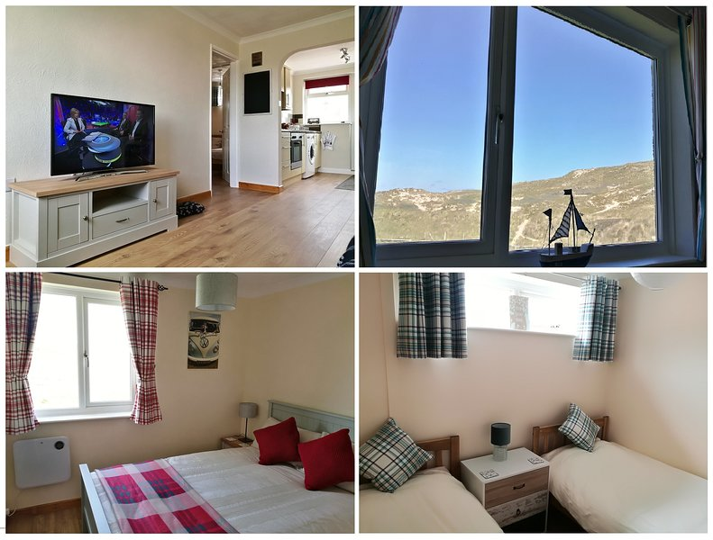 Dunes View - Perranporth - Beachside Apartment, family and pet friendly., Ferienwohnung in Perranporth