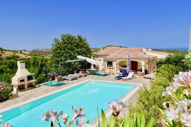 Villa Alba sul mare, vacation rental in Brunella