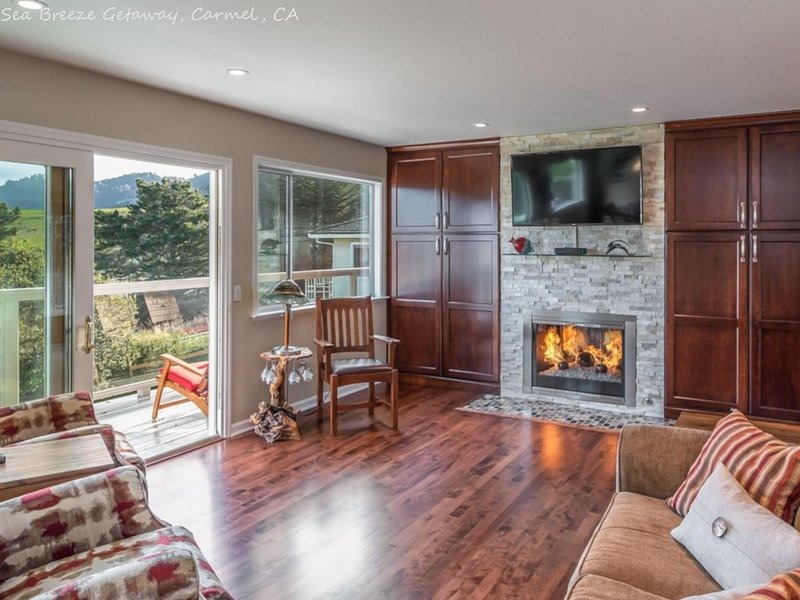 Beautiful 4 bedroom home 5 minute walk to the beach!, holiday rental in Big Sur