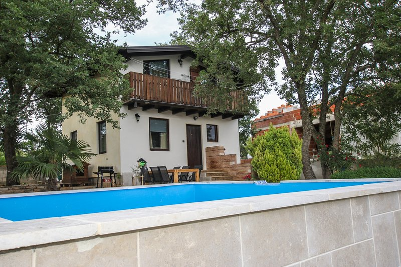 Beautiful house with swimming-pool, holiday rental in Roskici