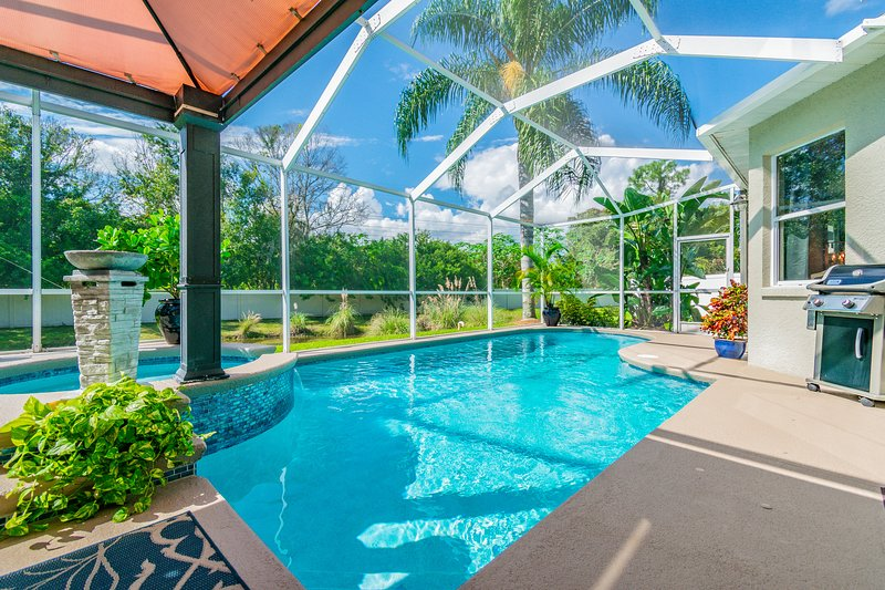*NEW* Spa Retreat: Relaxing Pool Home w/Hot Tub, Amenities and Conveniences, vacation rental in Tampa