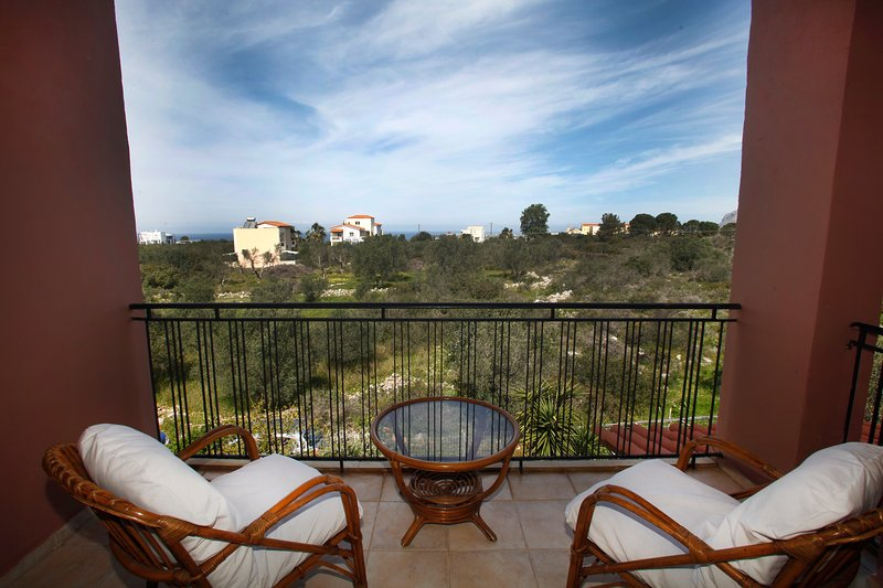 Beautiful apt with balcony & Wifi, holiday rental in Kampani