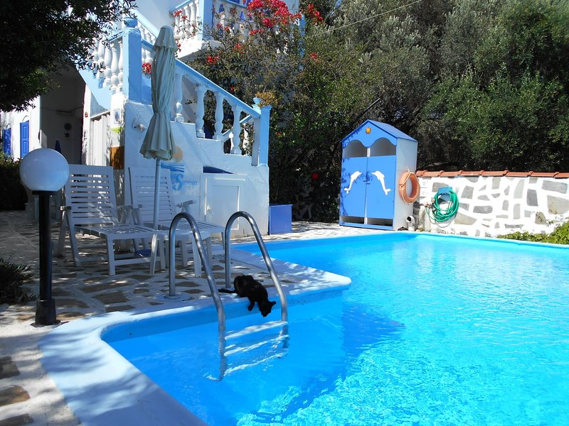 Meltemia Studio Samos N3 Glicorissa, holiday rental in Votsalakia